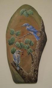 bluebirds 18 x 10