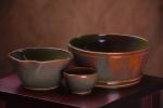 Boreal green bowls